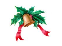 Decoração do Natal ilustração do vetor
