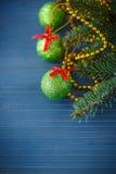 Decoração #2 do Natal Foto de Stock Royalty Free