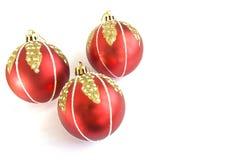 Decoração do Natal - baubles Imagem de Stock Royalty Free