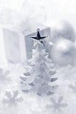 Decoração do Natal branco Fotos de Stock