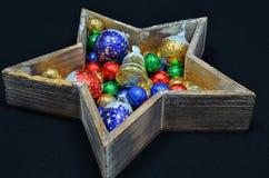 Decoração do Natal com doces imagem de stock royalty free