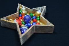 Decoração do Natal com doces foto de stock royalty free