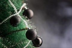 Decoração do Natal com fundo escuro à moda Foto de Stock