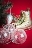 Decoração do Natal com presentes e balões Imagem de Stock