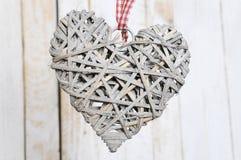 Decoração do Natal coração-dada forma Foto de Stock