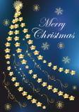 Decoração do Natal da árvore de Natal, Fotografia de Stock Royalty Free