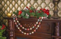 Decoração do Natal da casa Foto de Stock