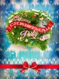 Decoração do Natal do ano novo Eps 10 Foto de Stock Royalty Free