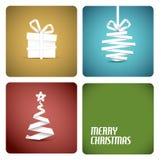 Decoração do Natal do vetor Fotografia de Stock
