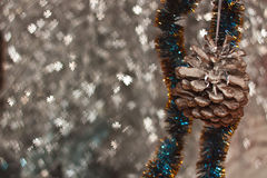 Decoração do Natal e do ano novo fotografia de stock royalty free