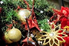 Decoração do Natal e do ano novo Imagem de Stock Royalty Free