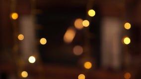 Decoração do Natal em casa Árvore e brinquedos de Natal Fireplase e velas filme