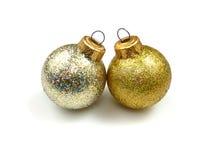 Decoração do Natal: Esferas Foto de Stock Royalty Free