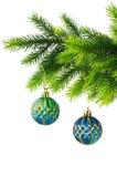 Decoração do Natal isolada Imagens de Stock Royalty Free