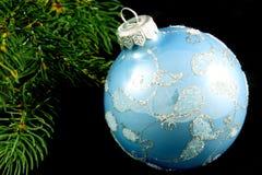 Decoração do Natal isolada no preto Foto de Stock