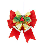 Decoração do Natal no branco Imagem de Stock