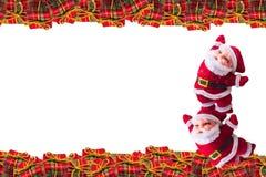Decoração do Natal no fundo abstrato Feliz Natal e anos novos felizes do fundo Ideia do cartão Fotos de Stock Royalty Free
