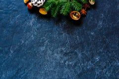 Decoração do Natal ou do ano novo fotografia de stock royalty free