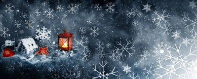 Decoração do Natal para o projeto ilustração stock