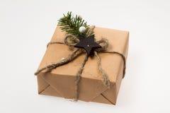 Decoração do Natal Presente do  de Ð na embalagem Foto de Stock Royalty Free