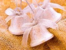 Decoração do Natal - sinos Imagens de Stock