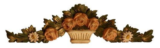 Decoração do ornamento da flor foto de stock royalty free