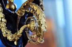 Decoração do ouro Imagens de Stock Royalty Free
