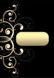 Decoração do ouro Fotografia de Stock Royalty Free