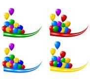 Decoração do partido ilustração royalty free