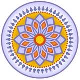 Decoração do prato do estilo de Marrocos Fotografia de Stock Royalty Free