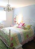 Decoração do quarto da menina fotografia de stock royalty free