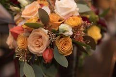 Decoração do ramalhete das rosas Imagem de Stock Royalty Free