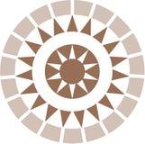Decoração do Romanesque Fotografia de Stock