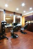 Decoração do salão de beleza de beleza fotos de stock royalty free