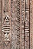Decoração do templo hindu Fotografia de Stock Royalty Free