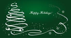 Decoração do vetor do Natal Imagens de Stock