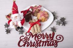Decoração dos anos novos e do Natal Fotografia de Stock