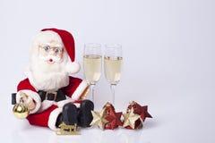 Decoração dos anos novos e do Natal Imagens de Stock Royalty Free