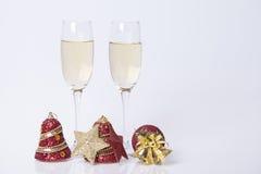 Decoração dos anos novos e do Natal Fotos de Stock