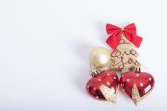 Decoração dos anos novos e do Natal Foto de Stock