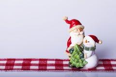 Decoração dos anos novos e do Natal Fotografia de Stock Royalty Free