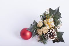 Decoração dos anos novos e do Natal Imagem de Stock Royalty Free