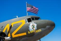 Decoração dos aviões da segunda guerra mundial Imagens de Stock Royalty Free