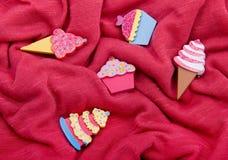 Decoração dos doces Fotos de Stock Royalty Free