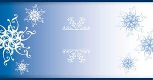 Decoração dos flocos de neve Fotos de Stock