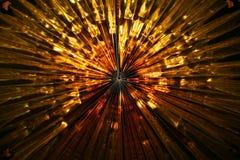 Decoração dourada Fotos de Stock Royalty Free