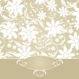 Decoração elegante da flor Fotografia de Stock Royalty Free