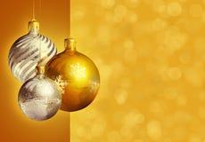 Decoração elegante denominada moderna do Natal. imagens de stock royalty free