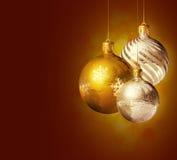 Decoração elegante do Natal. fotos de stock royalty free