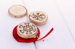 Decoração feito à mão do ornamento do Natal Imagem de Stock